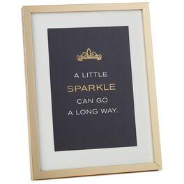A Little Sparkle Framed Print, , large
