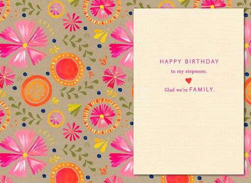 Youre In My Heart Stepmom Birthday Card