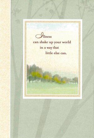 Difficult Illness Get Well Card