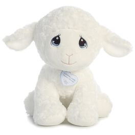 "Aurora Precious Moments 15"" Luffie Lamb, , large"