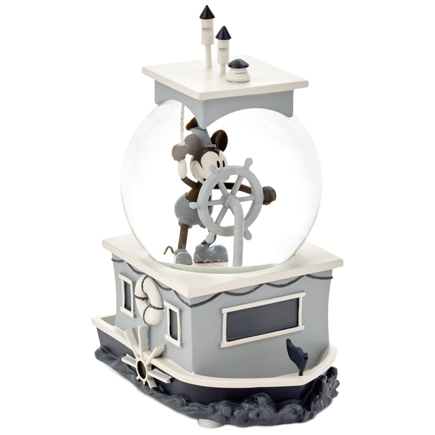 mickey mouse steamboat willie special edition musical water globe snow globes water globes hallmark