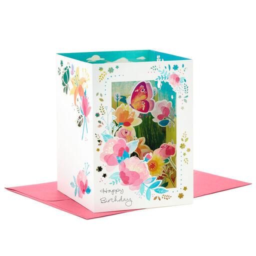 Biglietto pop-up Paper Wonder di HallmarkGirls Nursery medio