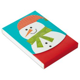 Snowman Purse Notepad, , large