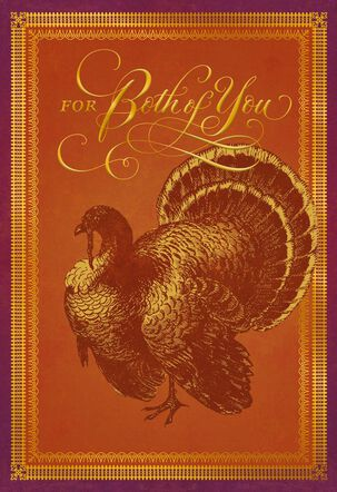 Everything Good Thanksgiving Card for Both