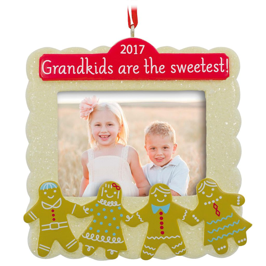 Grandkids Are the Sweetest 2017 Picture Frame Hallmark Ornament ...