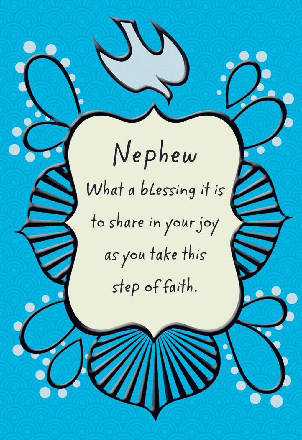Sharing Your Joy Nephew Confirmation Card Greeting Cards Hallmark