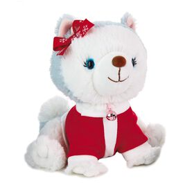 Bell® in Santa Suit Stuffed Animal, , large
