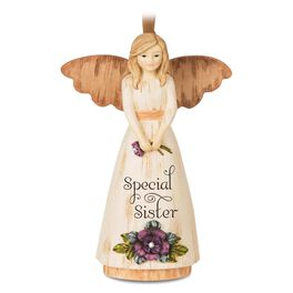 Special Sister Angel Figurine Ornament, , large