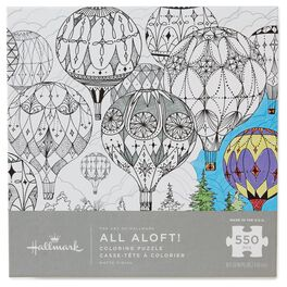 The Art of Hallmark—All Aloft! 550-Piece Coloring Puzzle, , large