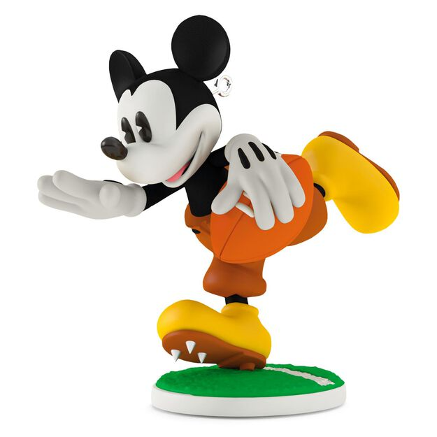 touchdown mickey 1932 football ornament