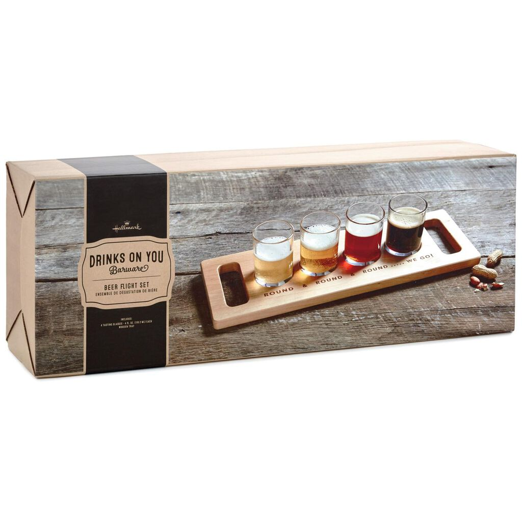 Beer Flight Kit Set Of 4 Tumblers Hallmark