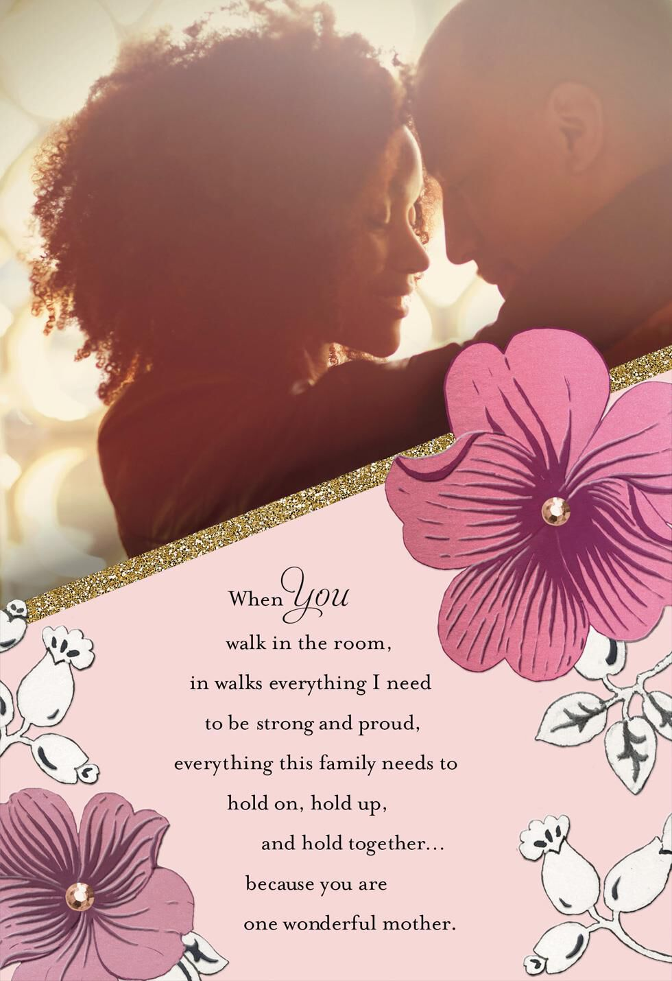 Brilliant Beauty Mother\'s Day Card for Wife - Greeting Cards - Hallmark