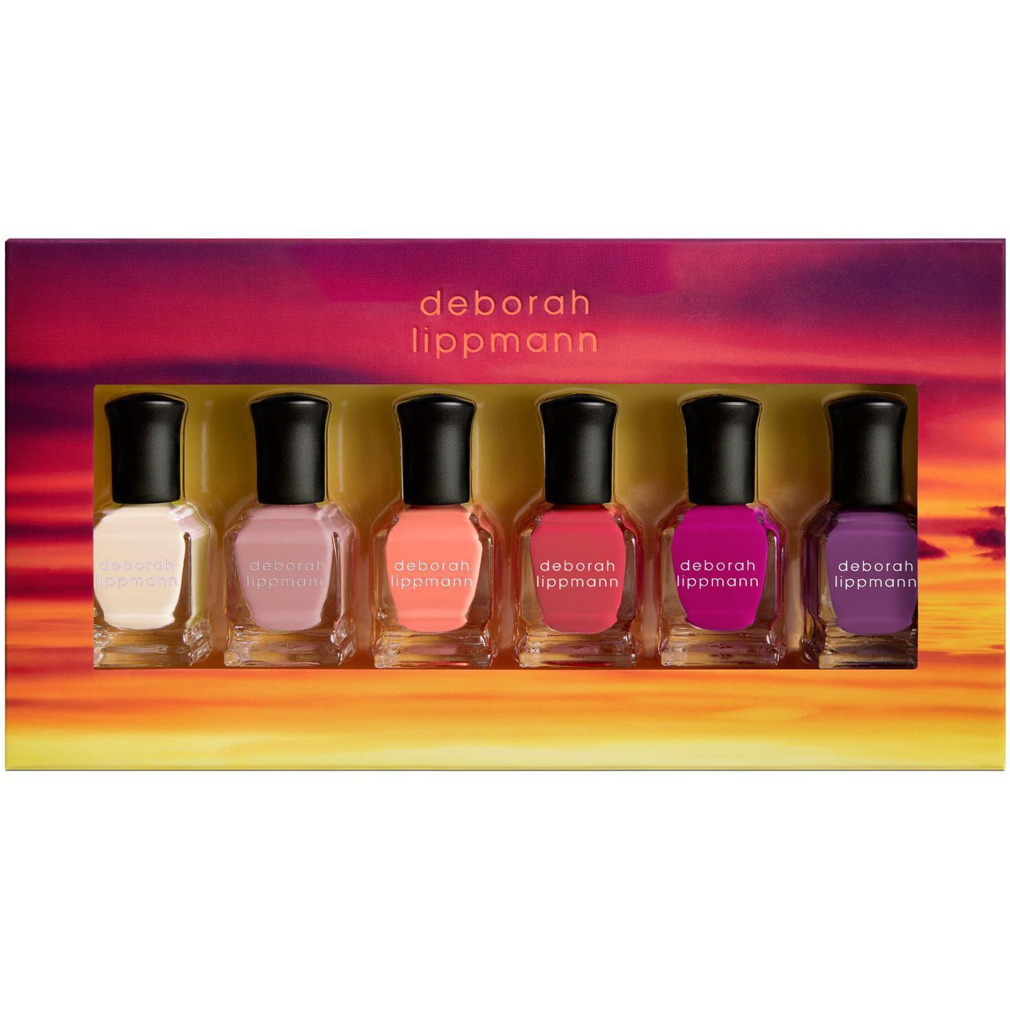 Sunrise Sunset Deborah Lippmann Nail Polish, Set of 6 - Lips & Nails ...