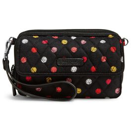 Vera Bradley RFID All-in-One Crossbody in Havana Dots, , large