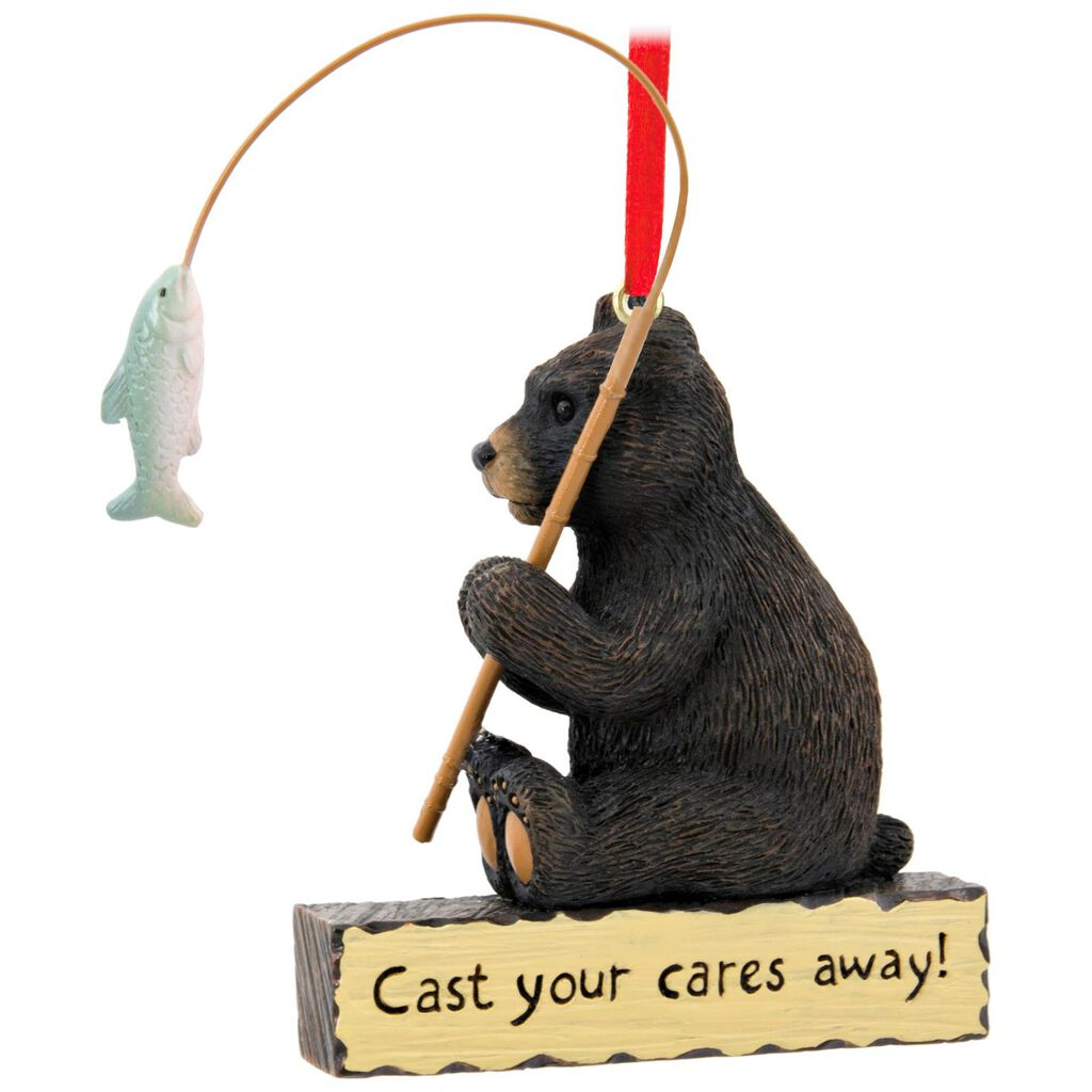 Fishing Bear Hallmark Ornament - Gift Ornaments - Hallmark