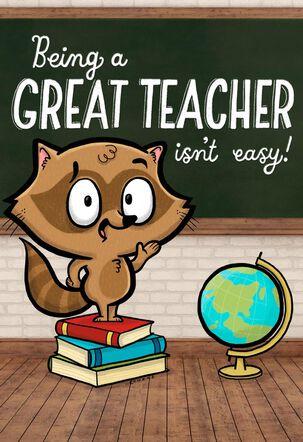 You Make It Look Easy Teacher Appreciation Card