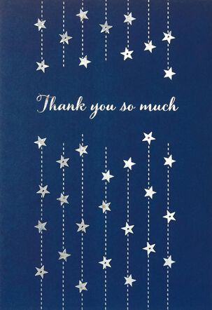 So Much Blank Thank You Card