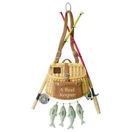 A Reel Keeper Fishing Ornament, , large
