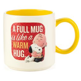 Snoopy and Charlie Brown Ceramic Mug, 12 oz., , large