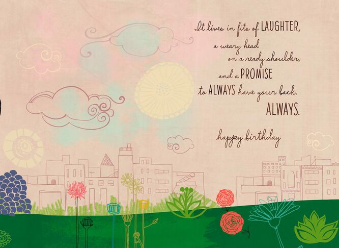 Always Friends Birthday Card Greeting Cards Hallmark – Birthday Card Friends