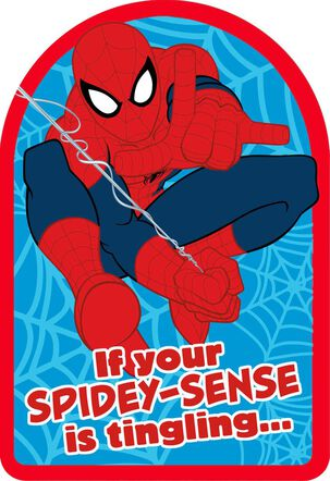 Spider-Man Spidey-Sense Birthday Card