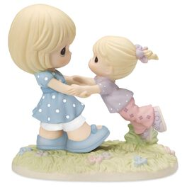 Precious Moments® Your Love Lifts Me Mother and Daughter Figurine, , large
