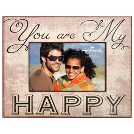 You Are My Happy Wood Photo Frame, 4x6, , large