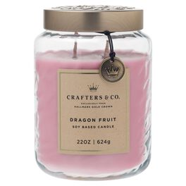 Crafters & Co. Dragon Fruit Candle, 22-oz, , large