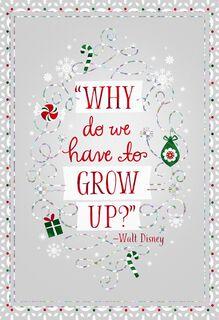 Disney Magic and Wonder Christmas Card,