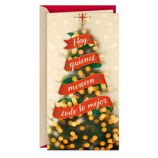 /Tarjeta de felicitaci/ón de Navidad bolsa de regalo bolsas de unidades/ /4 Hallmark/