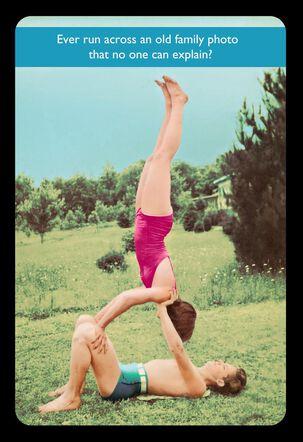 Untitled Birthday Yoga Photo Funny Birthday Card
