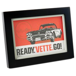Chevrolet® Corvette® Framed Print, , large