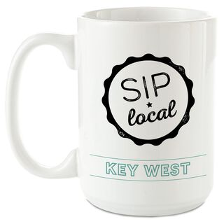 Sip Local Personalized Ceramic Mug,