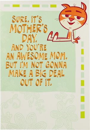 Best Mom Ever Fold-Out Mother's Day Card