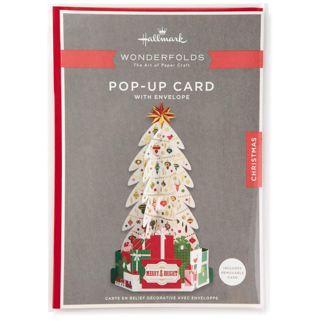 Decorated Tree Pop Up Christmas Card - Greeting Cards - Hallmark