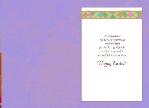 Blessing of Family Easter Card,