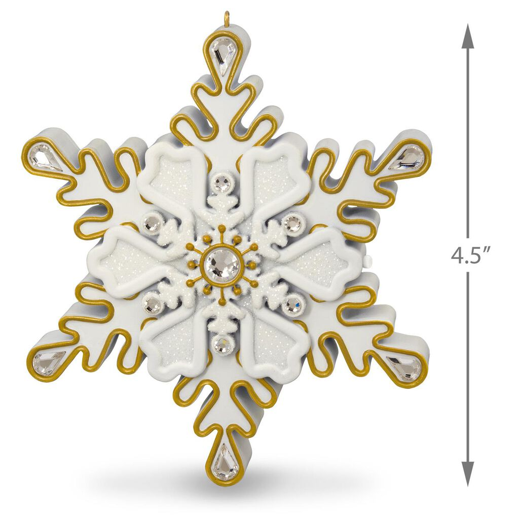All I Want for Christmas Is You Snowflake Musical Ornament ...
