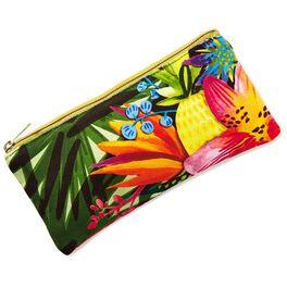 Tropical Pencil Pouch, , large