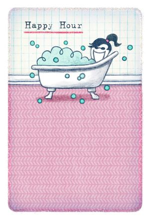 Life is Good® Bathtub Relaxation Funny Mother's Day Card