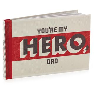 You're My Hero Dad Gift Book,