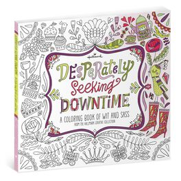 Desperately Seeking Downtime Coloring Book, , large