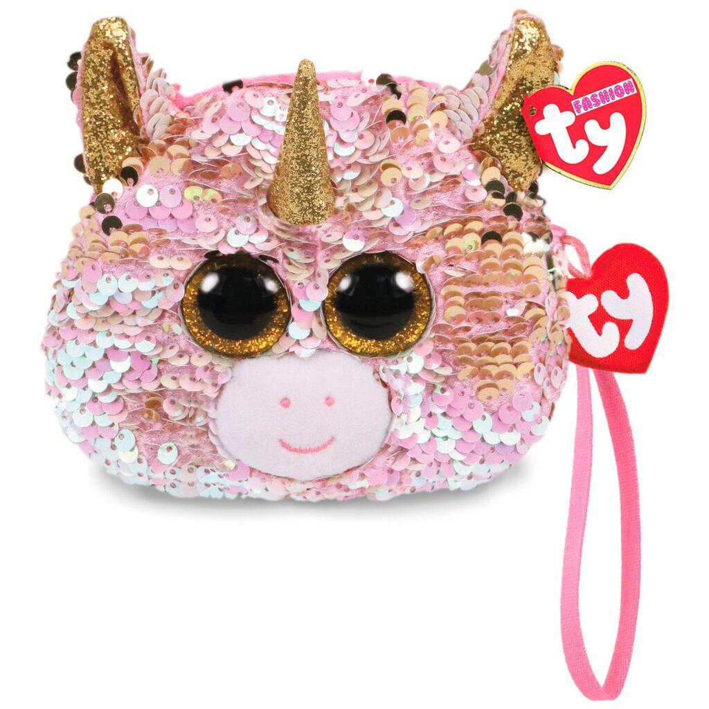 Ty Fashion Fantasia Unicorn Sequin Wristlet - Plush Toys - Hallmark 3bf57341b15