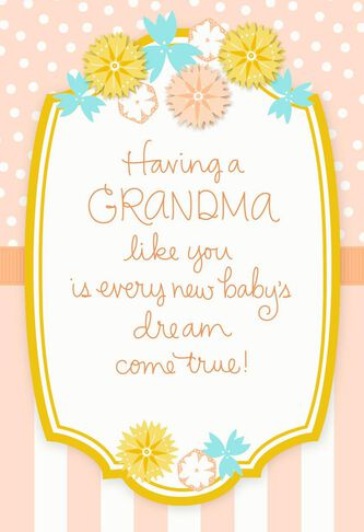 Mothers day card for a proud new grandma greeting cards hallmark mothers day card for a proud new grandma m4hsunfo