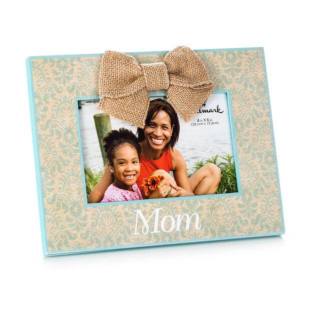 mom wood malden picture frame 4x6 - Mom Frames
