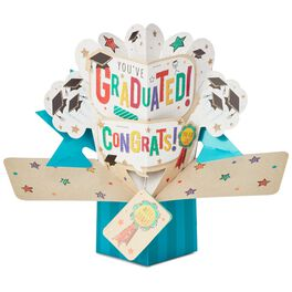 You Did It! Pop-Up Graduation Card, , large