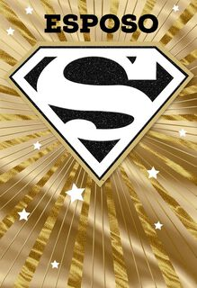 Superman™ Spanish-Language Father's Day Card for Husband,