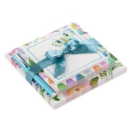 Butterfly Watercolor Floral Memo Pad, Set of 3, , large