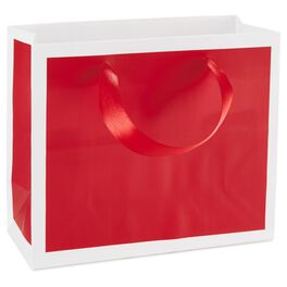Scarlet Red Gift Bag, , large