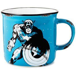 Captain America Ceramic Camp Mug, 12 oz., , large