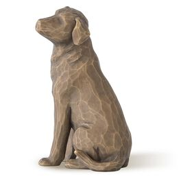 Willow Tree® Love My Dog Figurine, Brown, , large